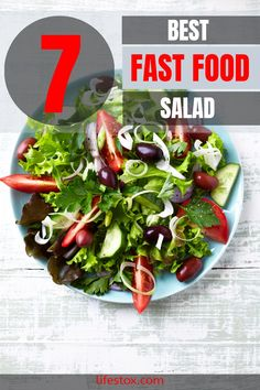 High protein fast food organizations are emerging too and you can get variety of healthy food in most of the popular vegan fast food joints and Mexican fast food joint now! Why not? Visit our site for more information. #fastfoodsalads #fastfoodsaladsrecepies #fastfoodsaladshealthy #fastfoodsaladsketo #fastfood #saladketo Healthy Fast Food Options, Healthy Menu, Healthy Foods To Eat, Healthy Recipes, Best Fast Food Salad, Fast Food Salads, High Protein Fast Food, Mexican Fast Food