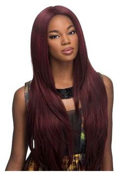 Vivica A Fox Deep Invisible Lace Front Part Wig JAMIE - Afrostyling