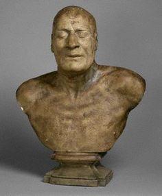Death mask of Samuel Johnson     http://www.undyingfaces.com/info/