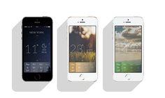 Minimal Meteo App for IPhone on Behance