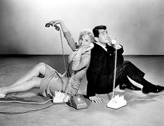 Dean Martin & Judy Holliday for Bells Are Ringing, 1960