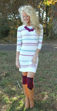 Sweater dress :))