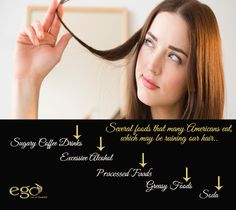 Several #foods that many #Americans eat, which may be ruining our #hair. #EgoWellness #Bangalore Via: www.goego.in