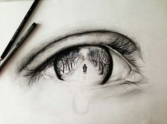 70 ideas eye tattoo realistic small 70 ideas e. Amazing Drawings, Cute Drawings, Drawing Sketches, Pencil Drawings, Amazing Art, Sketching, Gif Kunst, Photo Oeil, Realistic Eye Drawing