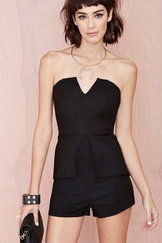 Madison Square Night Owl Romper