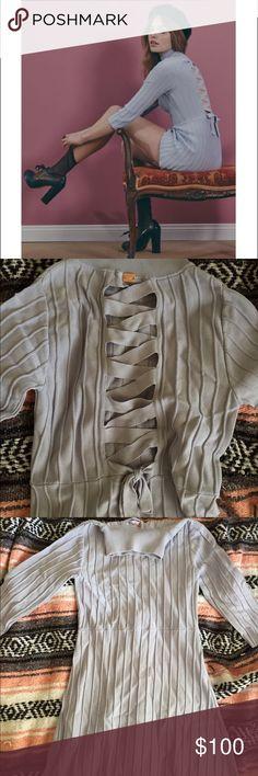 FOR LOVE AND LEMONS X KNITZ SIMONE DRESS size medium, new without tags For Love and Lemons Dresses