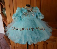 Love this babydoll pageant dress - very age appropriate
