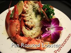Pan Roasted Lobster:  Watch Chef Tim prepare his recipe for Pan Roasted Lobster from the Lobster Pot Cookbook.  Just click on the link:  https://www.youtube.com/watch?v=J80azLivs4I