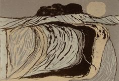 Michael Carlo - 'Earth 10' - DAVID CASE FINE ART woodcut