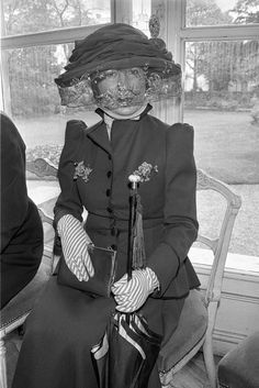 Anna Piaggi, 1978.