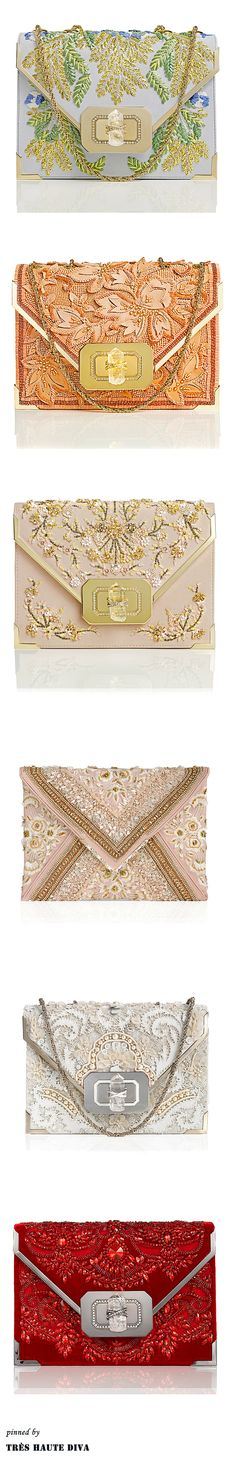 Marchesa Evening Clutches S/S 2014