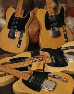 Fender Blackguard Telecasters