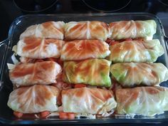 Chicken Quinoa Cabbage Rolls