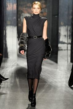 Donna Karan Fall 2009 Ready-to-Wear Fashion Show - Lily Donaldson