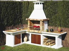 Amazing Outdoor Patio Barbecue Grill Ideas: Do you think that having a piece of BBQ stand in your house garden will bring a source of thrilling entertainment in the nightlife gatherings.