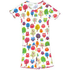 Your girl will have sweet dreams in this cute pajama set from Sara s Print.  100 1e50ec811