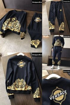 Best Clothing Brands, Designer Clothing Websites, Mens Clothing Styles, Men's Clothing, Versace Suits, Track Pants Mens, T Shorts, Best Mens Fashion, Dress With Sneakers