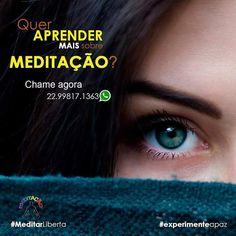 Eu não sei com o que você se comprometeu para 2017 mas a Meditação deveria estar nos seus planos!  #MeditarLiberta #experimenteapaz