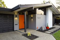 mide century modern house colors - Google Search