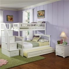 There are number of twin over queen bunk bed models presented in this site for you to choose from. Some of them come with drawers, trundle or...