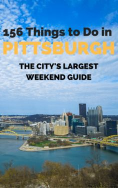 If you're looking for things to do in Pittsburgh, we've got you covered. This robust city guide contains over 365 attractions to enjoy in the region! Pittsburgh Attractions, Visit Pittsburgh, Pittsburgh Skyline, Pittsburgh Steelers, Rv Travel, Family Travel, Travel Tips, Stuff To Do, Things To Do