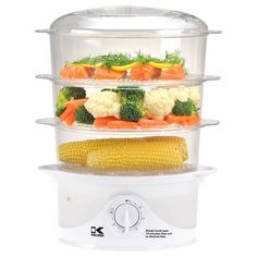 Kalorik 3 Tier Food Steamer #Food, #Healthy, #Steam