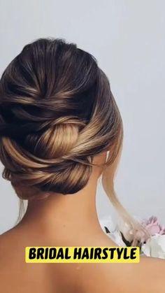 Long Hair Wedding Styles, Long Hair Styles, Easy Hairstyles, Wedding Hairstyles, Hair Videos, Bridal Hair, Braids, Beauty, Fashion