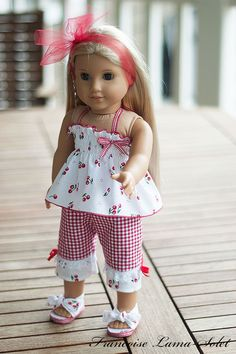 American Girl doll clothes 18 doll 3 pieces by francoiselamasolet