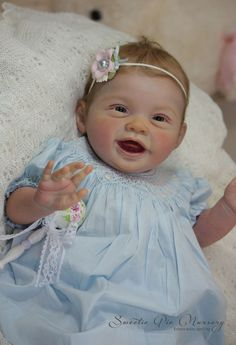 Prototype Reborn doll baby girl Arya Portrait Sculpt by Ping Lau