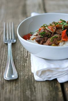 Beef Braised in Coconut Milk. Yum!
