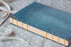 Notebook  Denim Dreams by CherryRedShop on Etsy