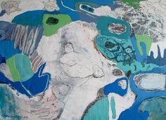 "Saatchi Art Artist Mimi van Bindsbergen; Painting, ""Tell me what you dreamed"" #art"