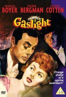 March 12 - Gaslight (1944)  Years after her aunt was murdered in her home, a young woman moves back into the house with her new husband. However, he has a secret that he will do anything to protect, even if it means driving his wife insane. (imdb.com)
