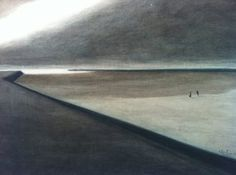 Leon Spilliaert - Beach 1907