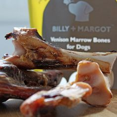 Made from 100% air-dried wild British venison, these venison marrow bones are a healthy snack for your dog.