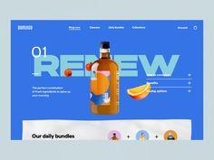E-Commerce Web Interaction - Domingo Site Web Design, Website Header Design, Design Blog, Ui Ux Design, Design Trends, Ecommerce Web Design, Web Design Color, Creative Web Design, Clever Design