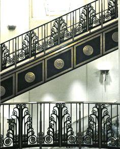 Waldorf Astoria Stairwell, Photo Romi Cortier