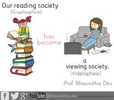 We should get back to the habbit of reading :)