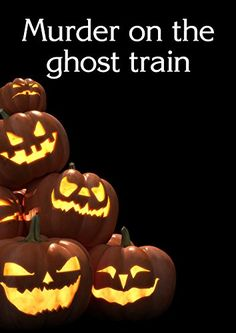 Murder on the Ghost Train - Murder Mystery Game for 10 players 59.99