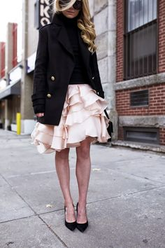 Skirt: Milly c/o (also here and dress version here). Shoes: Joe Fresh (similar). Zara (old,...