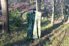 Winter weather photoshoot for Field Tarp/Poncho in M90 Camouflage.  In the sun and in the shade! Available at: http://webshop.tacupgear.com