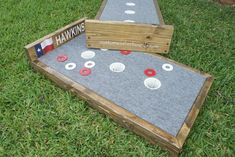 Three Hole Washer Boards | Custom Washer Boards of Texas.