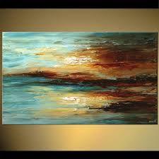 Resultado de imagen para abstract painting blue
