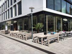 #Restaurant #Tapas #Bar Düsseldorf, #Außengastronomie.Stuhlfabrik Schnieder, Lüdinghausen. weitere Produktionfos http://www.schnieder.com/gastronomiemoebel/outdoor.html