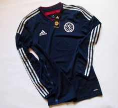 Scotland 2014/2015 home long sleeve player issue football shirt by Adidas  #scotland #nationalteam #adidas #bnwt #longsleeve #playerissue #adizero #soccerjersey #footballshirt #jersey #football #euro2021