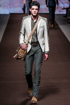 Sfilata Etro Milano Moda Uomo Primavera Estate 2014 - Vogue
