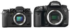 Fuji X-T2 vs. Canon 7D Mark II Camera Comparison, Fuji, Binoculars, Canon