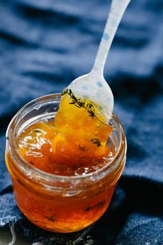 Maple Peach Whisky Jam