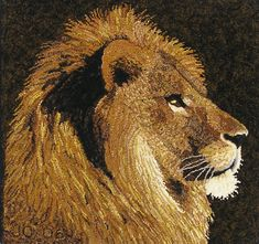 Lion Profile 20 x 20