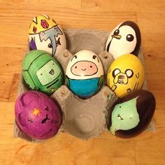 Easter Egg Time with Finn and Jake!   Adventure Time Easter Eggs  -- http://instagram.com/sammyleee --